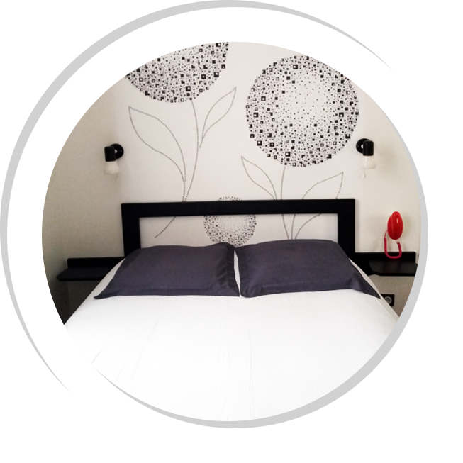 chambre double hotel fecamp plage vue mer